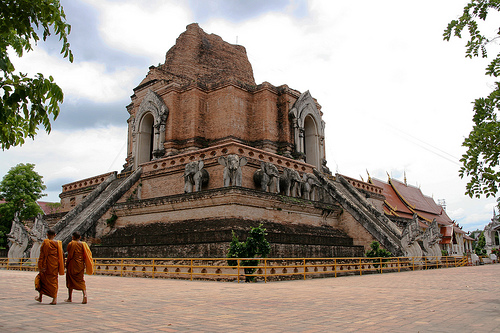Main Temple Chang Mai Thailand by Zoutedrop