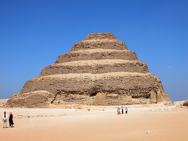 Step Pyramid of Djoser by Dennis Jarvis