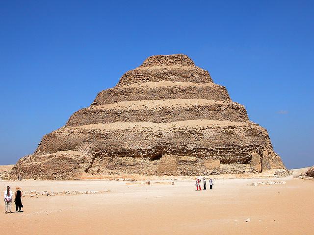 Step Pyramid of Djoser by Dennis Jarvis