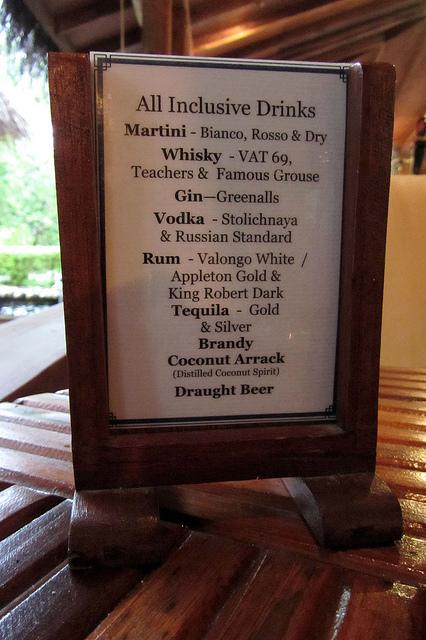 All Inclusive Drinks by warrenski
