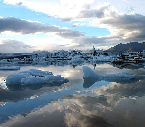 Iceland 2007 glacier lagoon Jökulsárlón by O Palsson