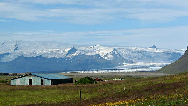 Iceland glacier view by MindsEye_PJ