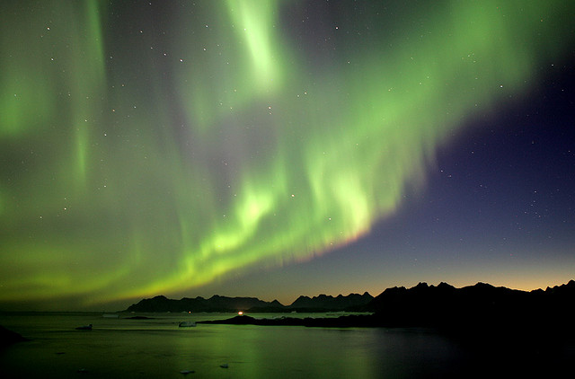 Northern Lights, Greenland by Nick Russil