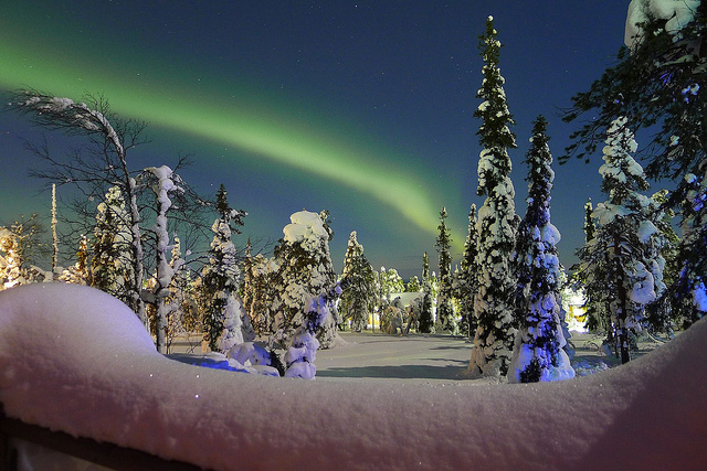 Northern Lights by Timo Newton-Syms