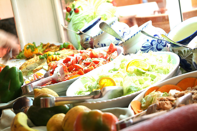Salad Buffet at Hotel Mac Paradiso by Mac Hotels