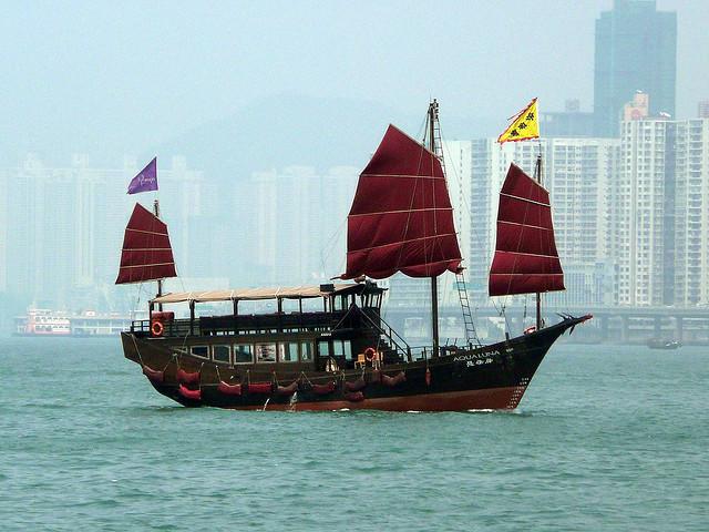 Junk, Hong Kong by Dan Neveill