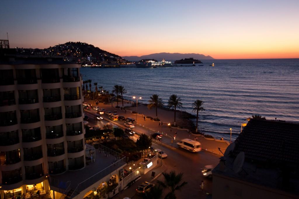 Kuşadası Sea Views from Palm Hotel by Anthony Freeman
