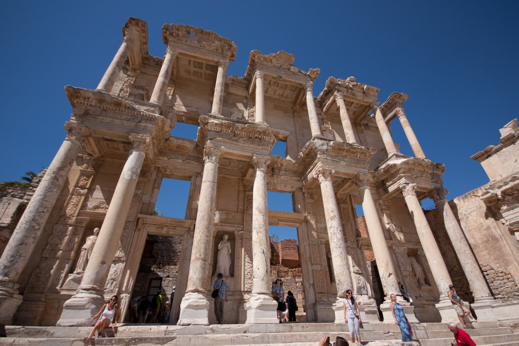 Library of Celsus by Anthony Freeman
