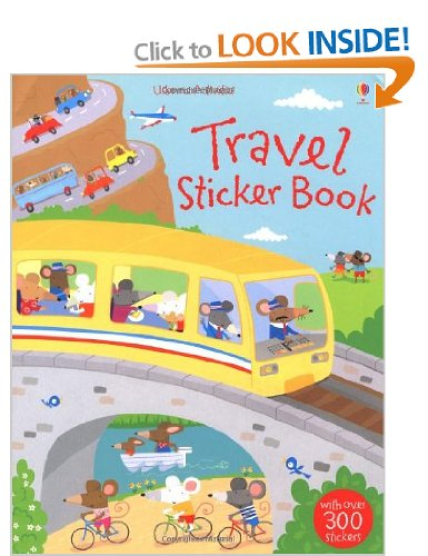 Galt Travel Sticker Book For Kids