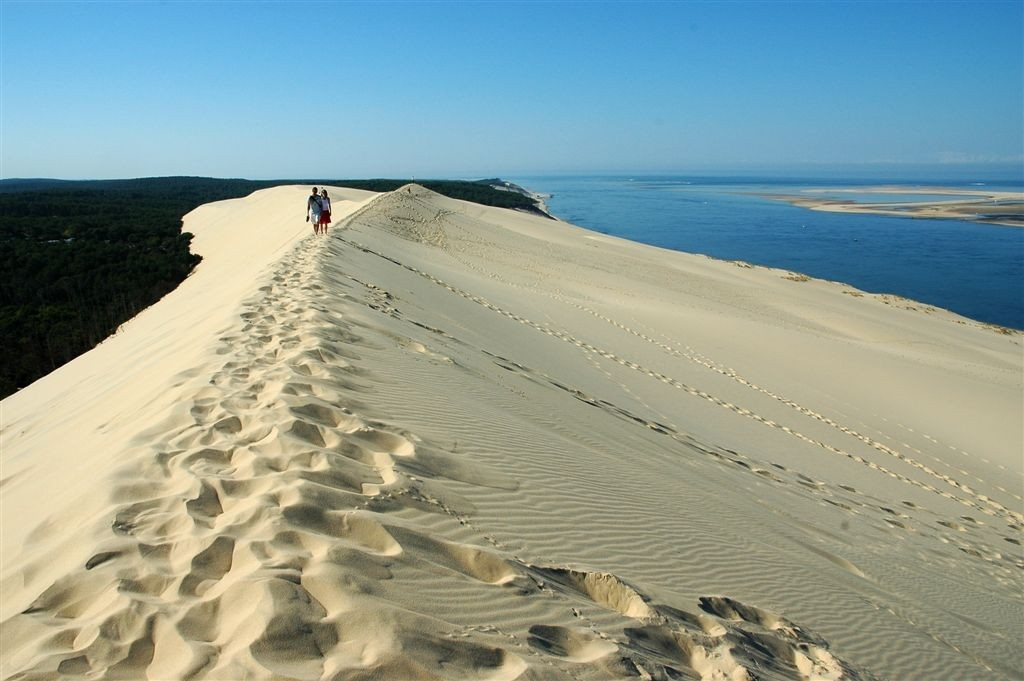 Sun sand and surf in south west france - Dune du pilat restaurant ...