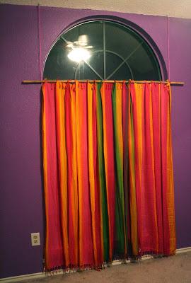 30 Ways to Use a Sarong, Curtains