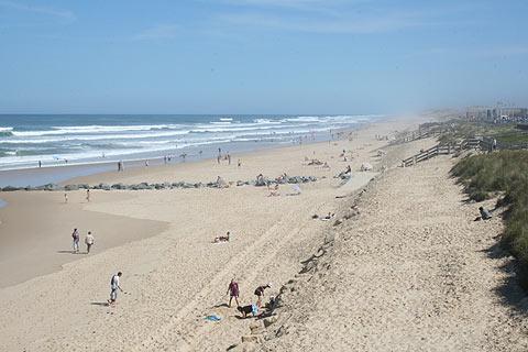 Lacanau Ocean Beach, South West France