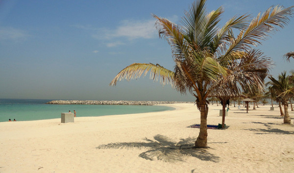 Al Mamzar Beach Park in Dubai