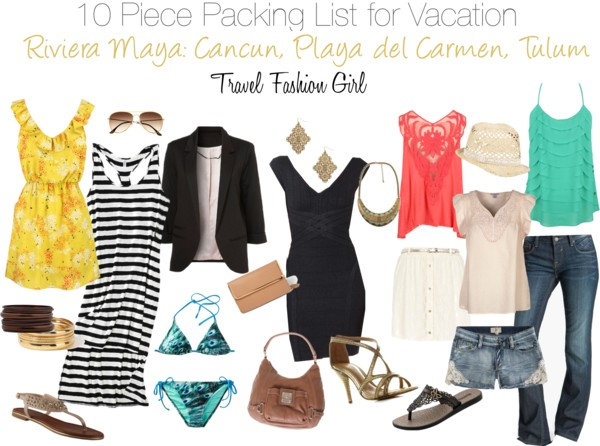 Beach Holiday Capsule Wardrobe