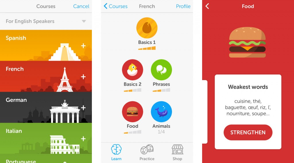 DuoLingo Travel Phrasebook App