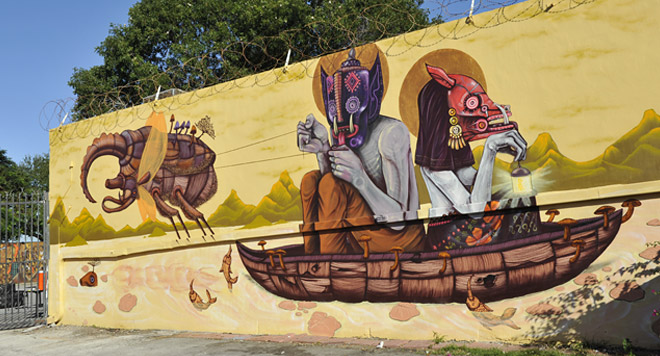Edgar Saner Street Art