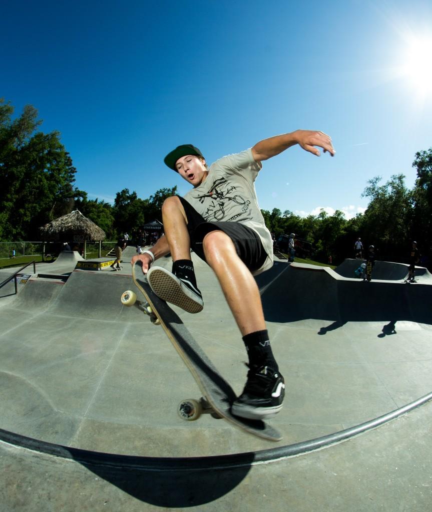 By Evan Brant, from Grind For Life 2014 @ NSB Skatepark