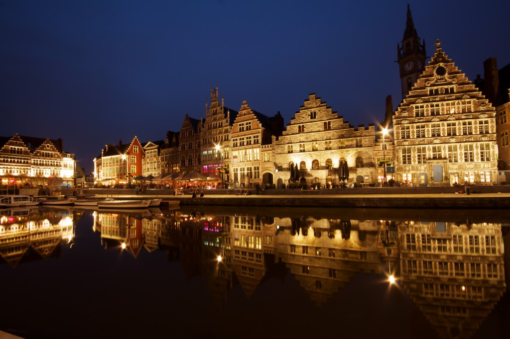 Ghent at Night by Sandeep Pawar 2012