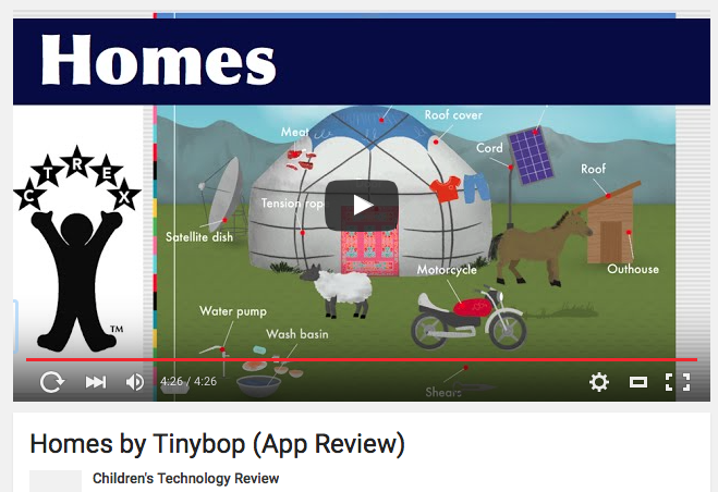 tinybop youtube review by The Children's Technology Review