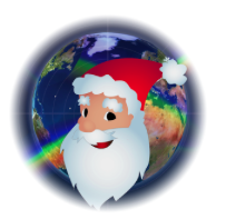 Santa Tracker Christmas logo