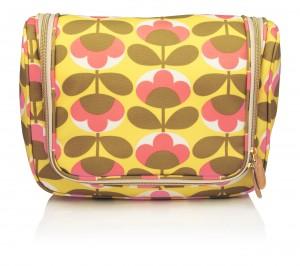 cuckooland_Orla Kiely Oval Flower Wash Bag