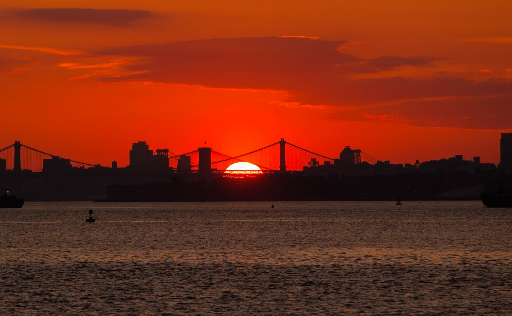New York City Sunrise by Anthony Quintano CC BY 2.0