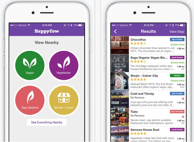 Happycow Review Travel App Of The Month Feb 2016