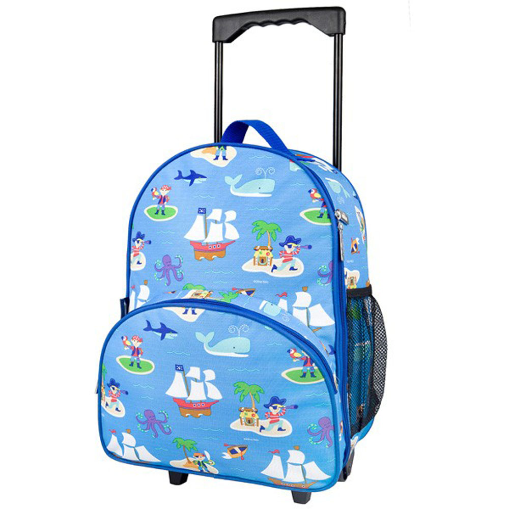 Best suitcases 2016 Becky & Lolo Kids' Rolling Luggage- Pirates