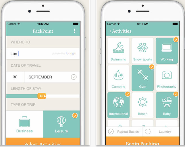PackPoint Premium screenshot 1
