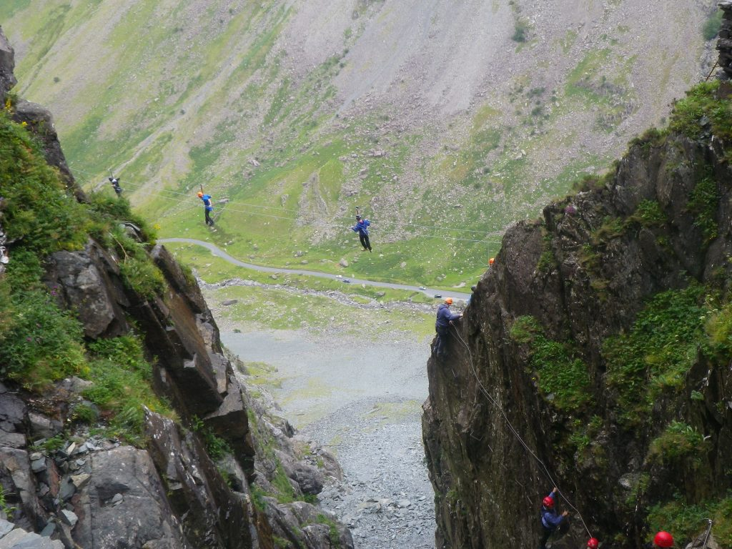 via ferrata honister slate mine image