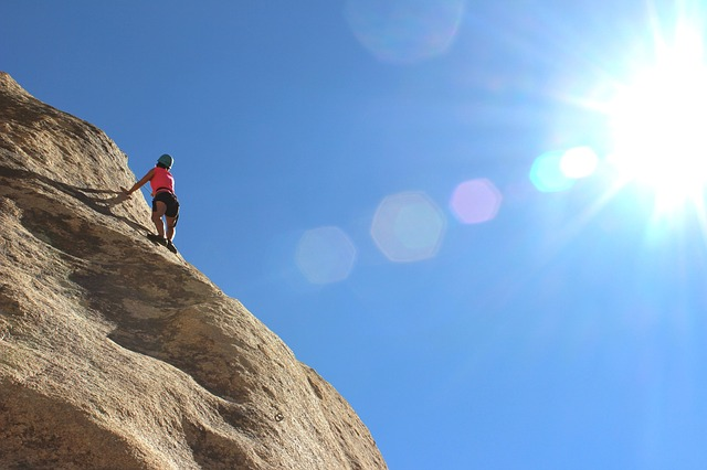 Climber by Unsplash CC0