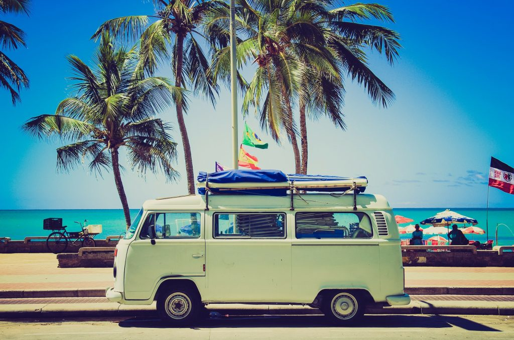 VW Camper by Unsplash CC0