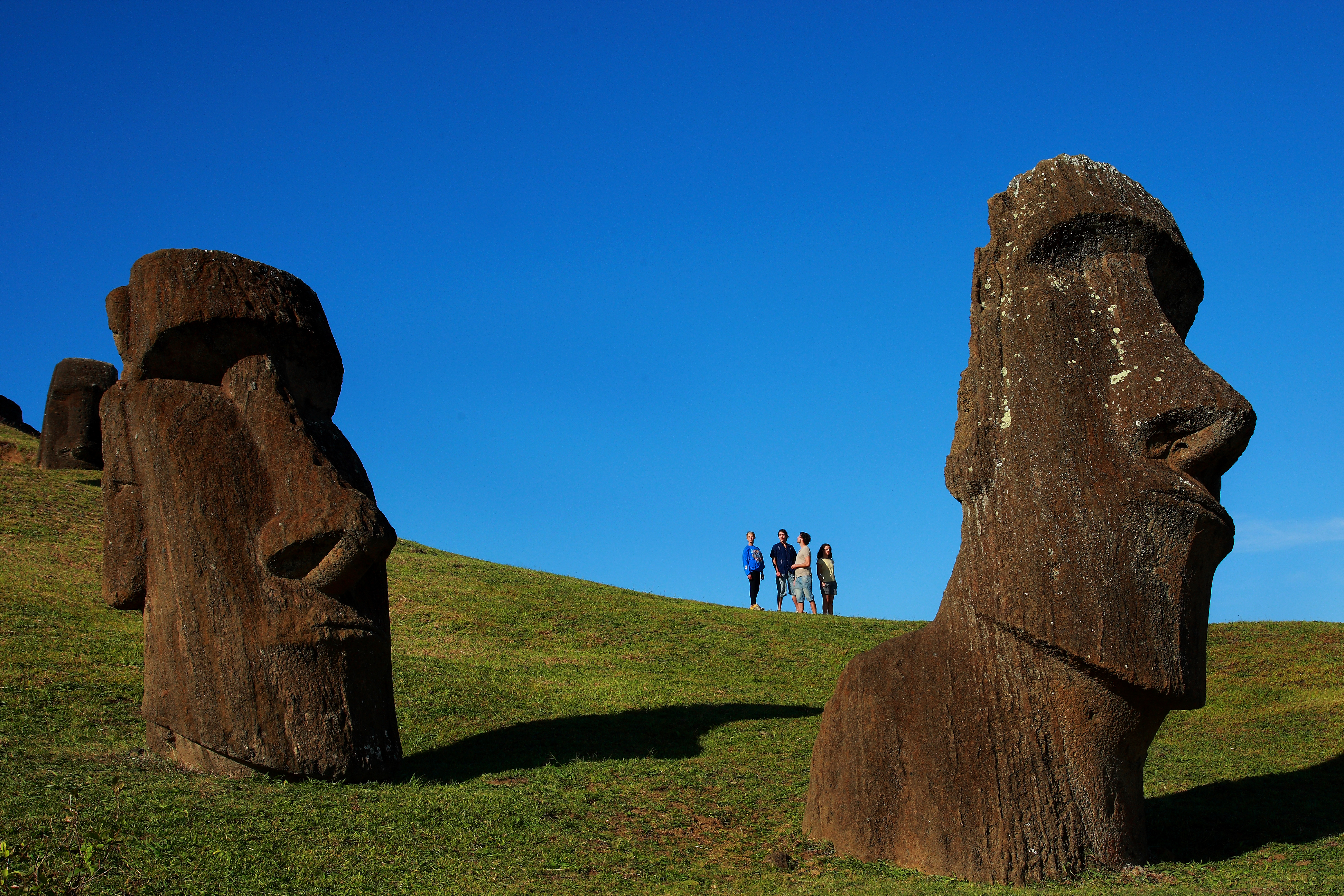 Moai at Rano Raraku. Image courtesy of Sunvil Latin America
