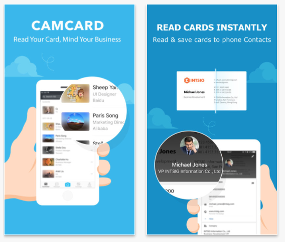 Camcard review travel app of the month january 2018 why is camcard good for travelling reheart Gallery