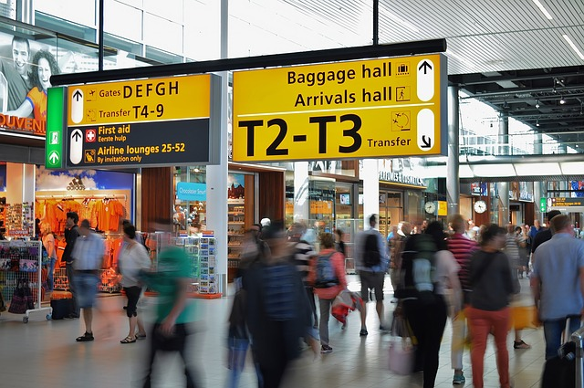 Airport Travel Hacks Image by skitterphoto CC0