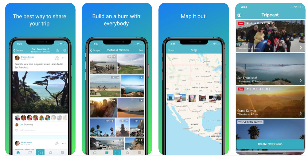 tripcast screenshot
