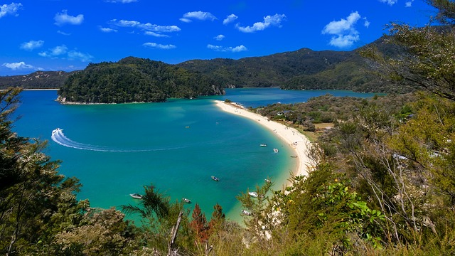 New Zealand Beach - Safe Holiday Destinations