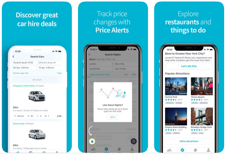 skyscanner travel app review
