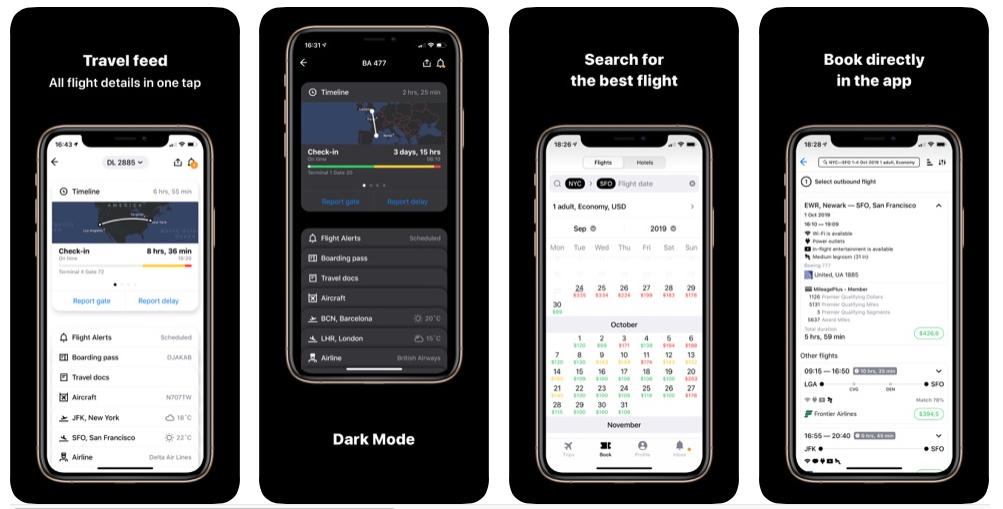 App in the air app rating screenshot 1