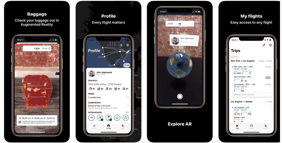 App in the air app rating screenshot 2