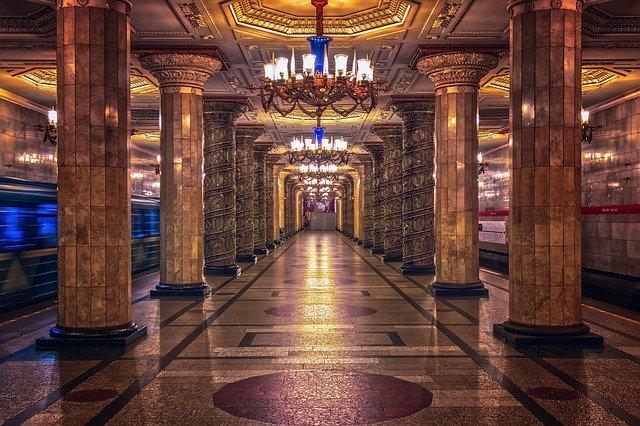 St Petersburg metro Image by Tama66 CC0