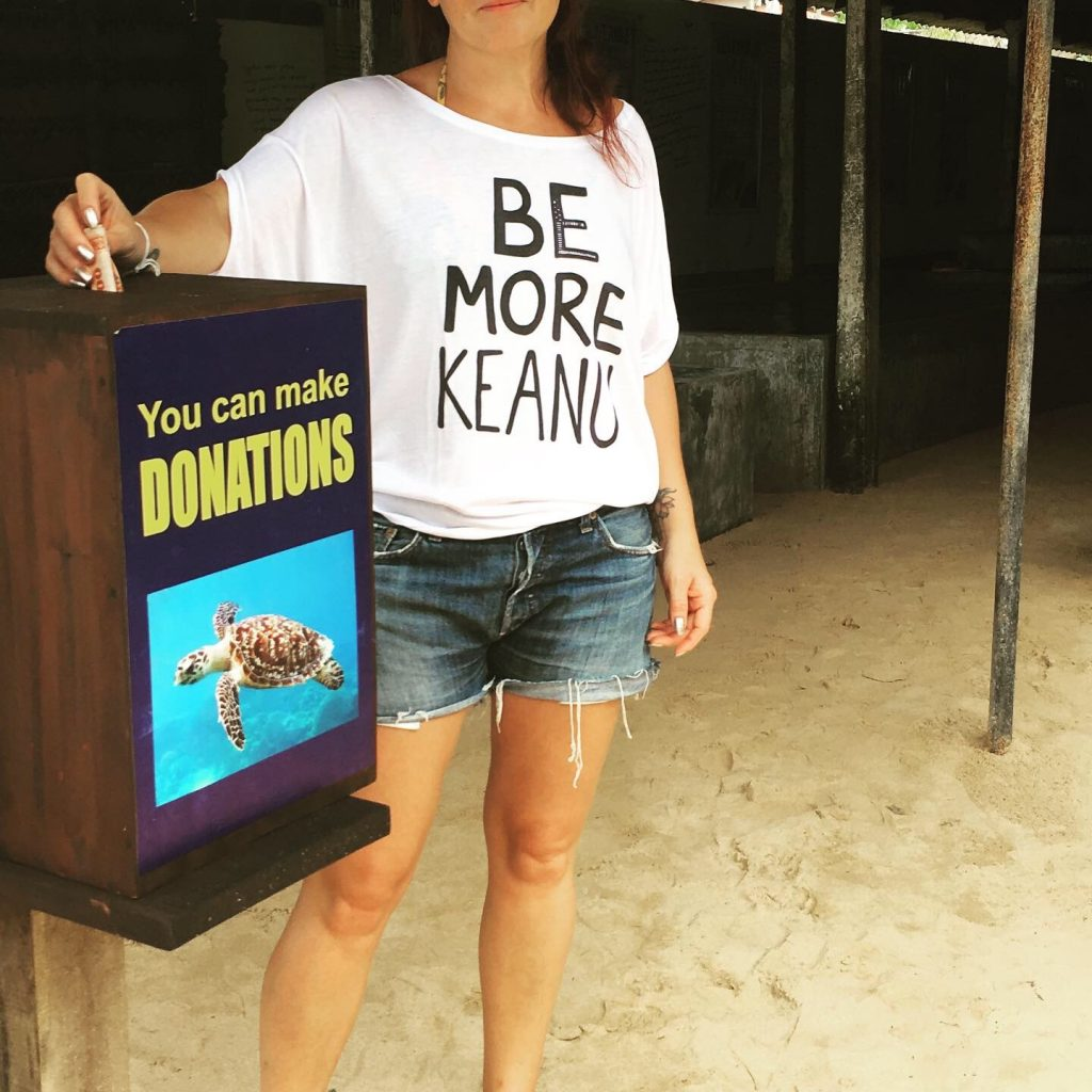 Be More Keanu Turtle Sanctuary Image by Kerry McCarthy CC0